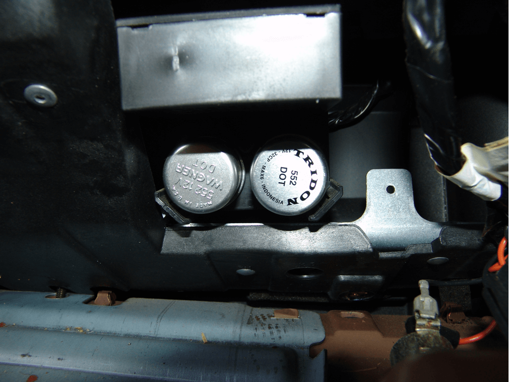 chevy s10 relay location