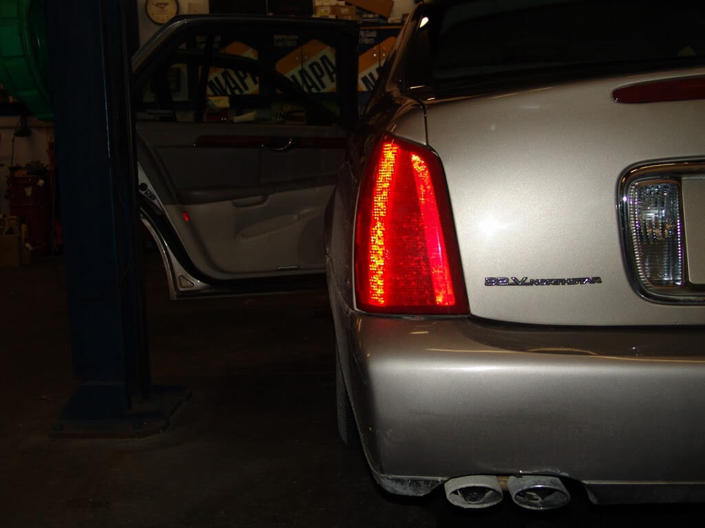 1999 cadillac deville interior lights not working