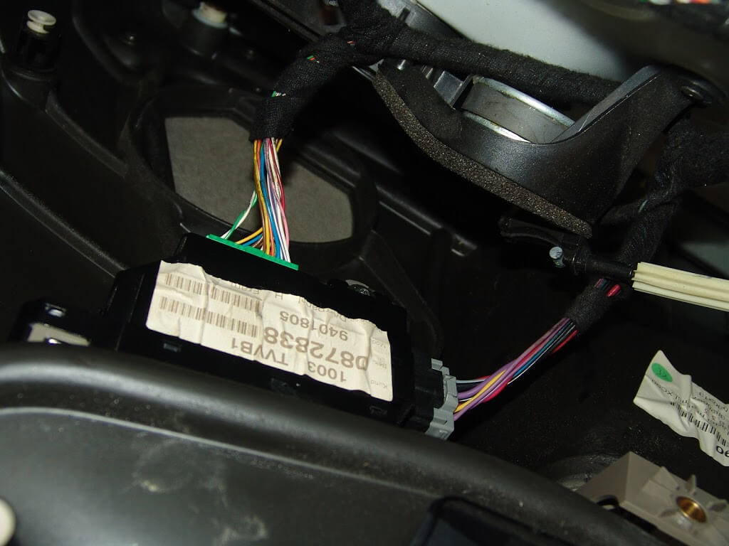 volvo xc90 2004 radio wire harness