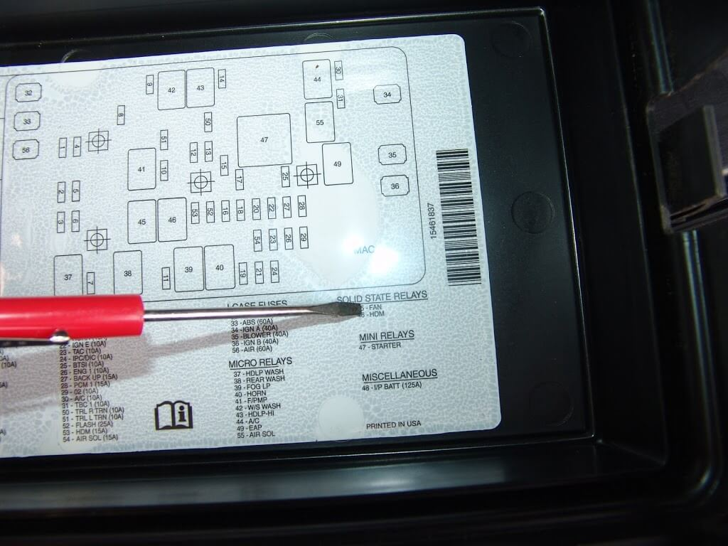 2004 Trailblazer Fuse Panel Diagram Automotive Wiring Chevrolet Box Starter Location On Chevy Express Get Free Image